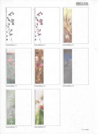 Linie květiny varianty